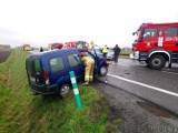 Wypadek w Opolu na wysokości Wrzosek. 24-letni kierowca renault uderzył w mercedesa. Miał prawie 3 promile