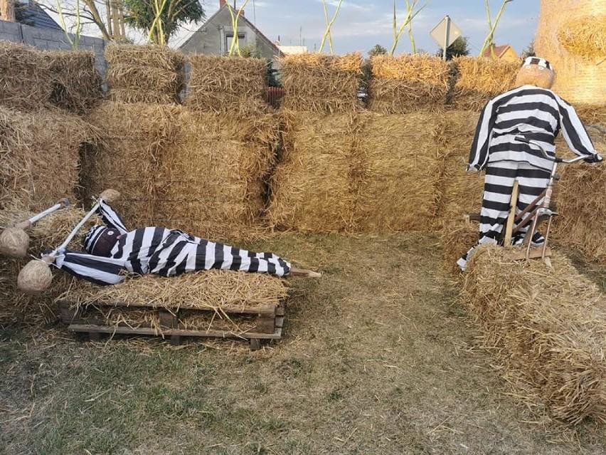Dożynki Gębarzewo: więzienna dekoracja na święto plonów