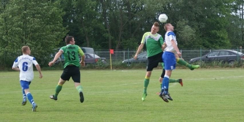 Wisan Skopanie (zielone koszulki) uległ w niedzielę...