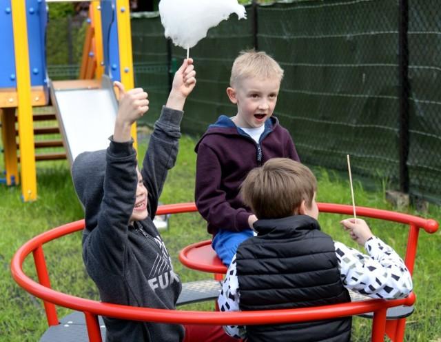 Otwarcie placu zabaw na Czumówce w Wadowicach