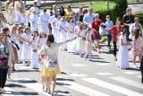 Boże Ciało 2021 w Malborku. Procesja przeszła od kościoła Matki Boskiej Nieustającej Pomocy do św. Jana Chrzciciela