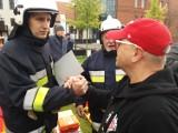 Sprzęt dla strażaków z Wieruszowa od Fundacji WOŚP