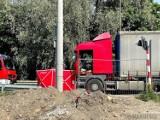 Wypadek w Opolu. Rowerzystka zginęła na alei Przyjaźni pod kołami ciężarówki z naczepą