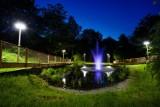 Radlin: Kolorowa fontanna na środku stawu. Zobaczcie ZDJĘCIA