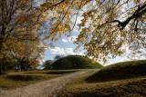 Kraków. Przepiękne jesiennie kolory na Kopcu Krakusa