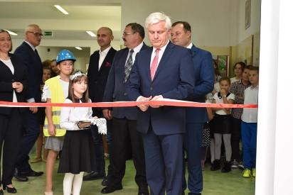 Gmina Września: Nowe skrzydło w SSP w Kaczanowie oficjalnie otwarte