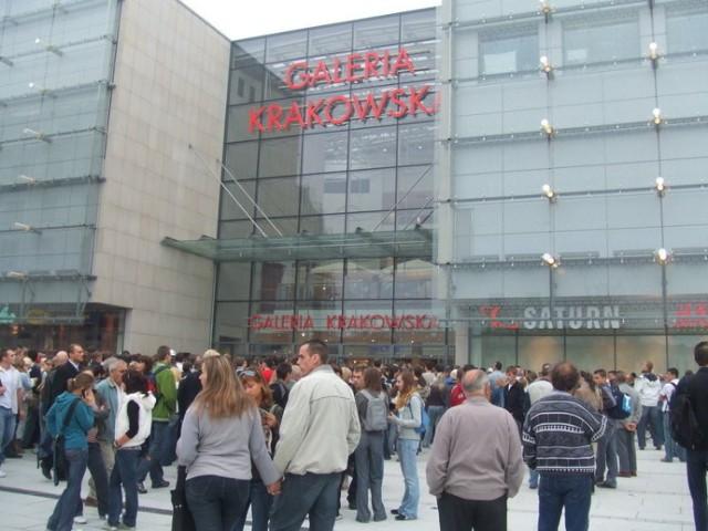 Galeria Krakowska została otwarta. | Fot. Tomasz Nakoneczny.