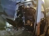 Groźny wypadek koło Rzepina. Zderzyły się dwa busy