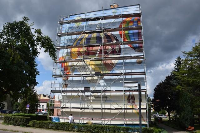 Mural balonowy w Szczecinku będzie gotowy na Art Piknik
