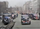 Zobacz archiwalne zdjęcia Katowic w kolorze. Jak przed wojną wyglądało miasto? Oto unikatowe fotografie