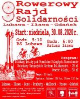 Malbork. Rowerowy Rajd Solidarności 2020. Można przyłączyć się do tych, którzy będą jechali z Lubawy i Iławy