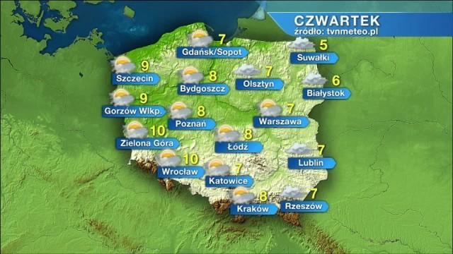 Jaka będzie pogoda 12 listopada?