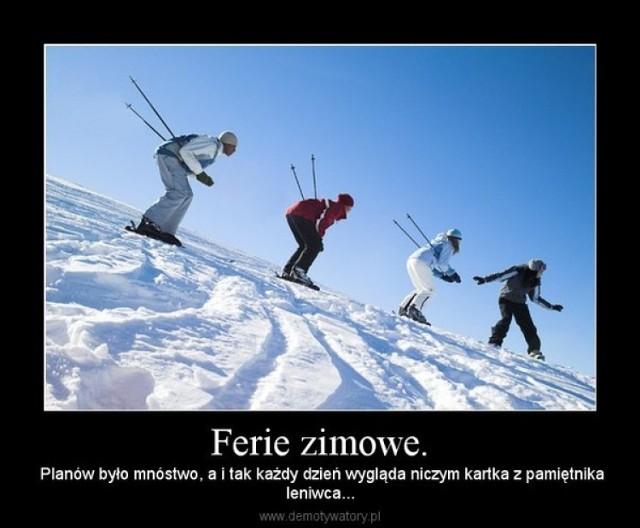 Ferie zimowe 2015. Jak komentują je Polacy?