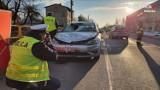 Śmiertelny wypadek w Mikołowie. Samochód przejechał mężczyznę na przejściu dla pieszych