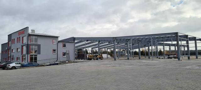 Budowa nowej hali Opaku