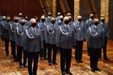 Kąśna Dolna. Święto Policji w Centrum Paderewskiego. Policjanci odebrali awanse na wyższe stopnie i medale [ZDJĘCIA]