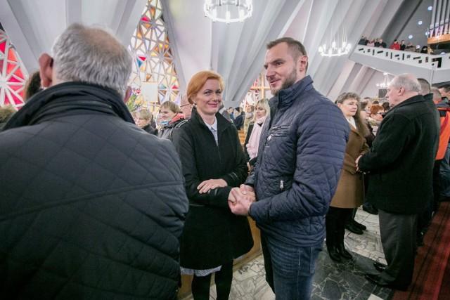 Odnowienie przysięgi małżeńskiej — w parafii pw. Wniebowzięcia Najświętszej Maryi Panny we Władysławowie