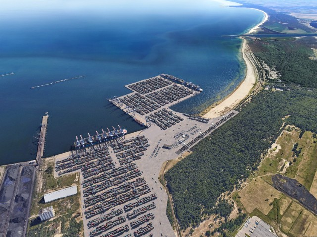 DCT Gdańsk zbuduje Baltic Hub 3 za 2 mld zł