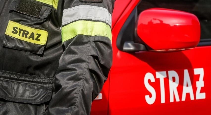 Strażacy ujawnili ciało w mieszkaniu