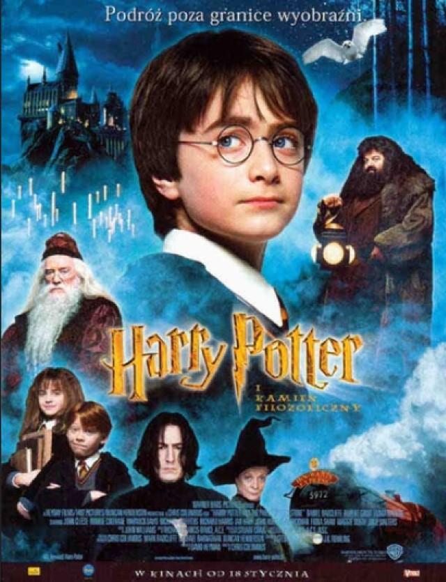 Dzisiaj 20:00, TVN  Wielka przygoda Harry'ego Pottera rozpoczyna się w dniu jego jedenastych urodzin, gdy dowiaduje się on, że jest synem dwojga potężnych czarodziejów i że sam również ma nadzwyczajne zdolności magiczne. Film fantastyczny