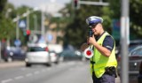 Policjanci prowadzą kontrole prędkości - w naszym powiecie przede wszystkim na DK20