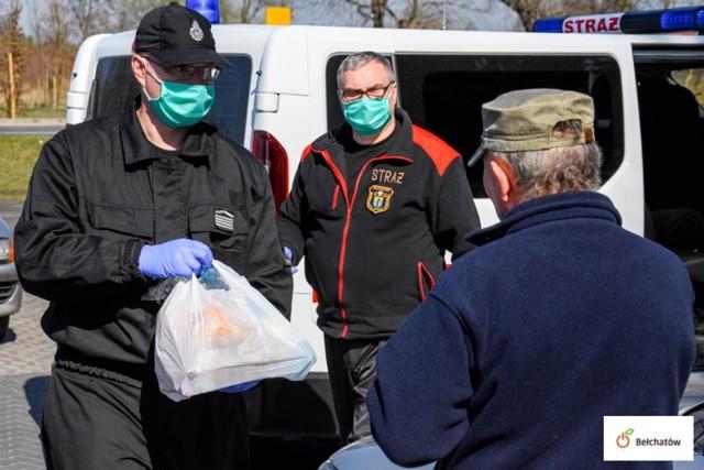 Paczki trafią do 130 osób z Bełchatowa.