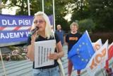 """""""Wolne media, wolna Polska w Europie"""". W Opolu odbyła się manifestacja przeciwko rządom PiS"""