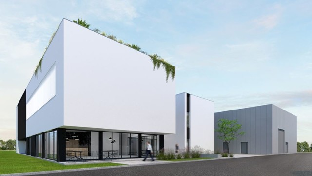Inkubator przedsiębiorczości w Żninie. Czy będzie tak wyglądał? To na razie koncepcja. Budynki będą przygotowywane w trybie zaprojektuj - wybuduj.