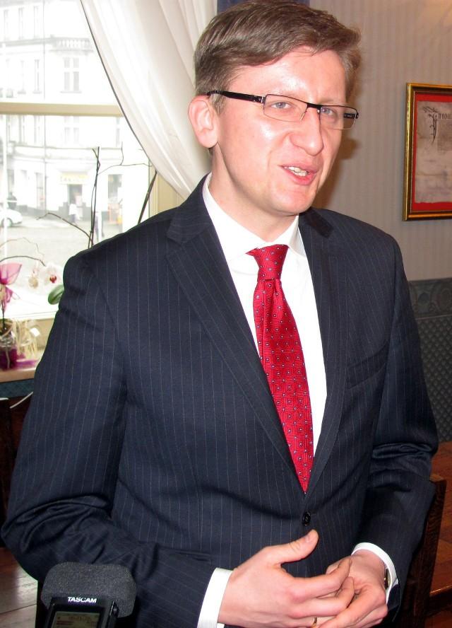 Dariusz Grodziński, wiceprezydent Kalisza.