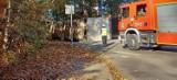 Rybnik: na skrzyżowaniu Jastrzębskiej i Nowej przewróciła się ciężarówka. Droga jest całkowicie nieprzejezdna. Nikomu nic się nie stało