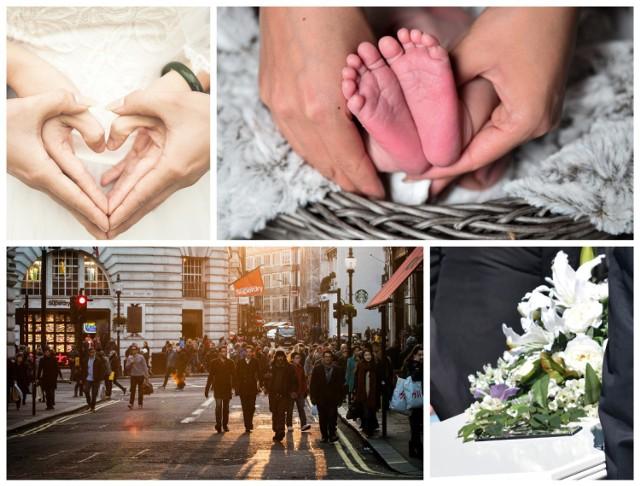 W powiecie międzychodzkim spada liczba ludności. Urzędy zanotowały też mniej urodzeń, więcej zgonów i mniejszą liczba ślubów