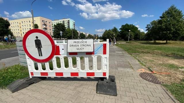W poniedziałkowy poranek rozpoczął się remont pierwszego odcinka ulicy Kombatantów w Gorzowie.