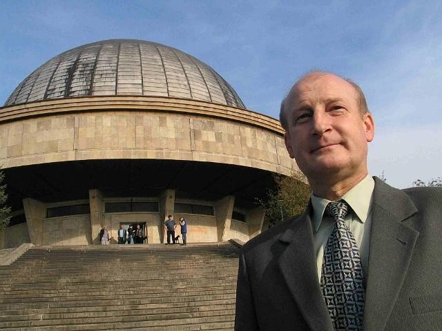 Lech Motyka, dyrektor Planetarium i Obserwatorium Astronomicznego im. Mikołaja Kopernika w Chorzowie.