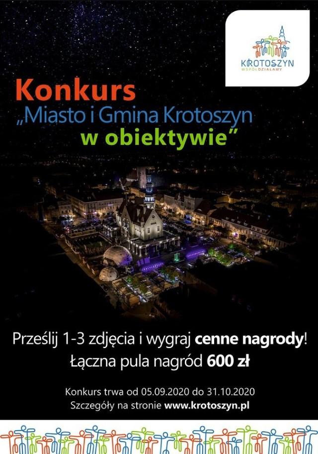 """Urząd Miejski w Krotoszynie zaprasza do udziału w Konkursie """"Miasto i Gmina Krotoszyn w obiektywie""""."""