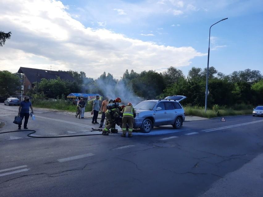 Do pożaru doszło na kilka minut przed godziną 8. rano. W...