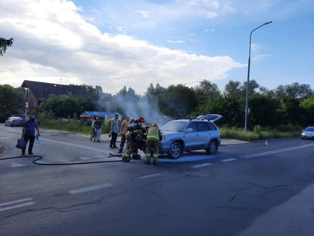 Do pożaru doszło na kilka minut przed godziną 8. rano. W akcji gaśniczej brała udział jedna jednostka straży pożarnej.
