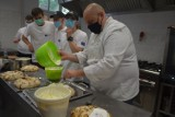Szamocin. Portugalska zupa i beza, przygotowane pod kierunkiem finalisty Master Chefa