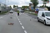 """Wypadek w Żorach na """"wiślance"""". Potrącił 12-latka na przejściu dla pieszych. Chłopiec trafił do szpitala"""