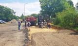 Rozpoczęto prace przy remoncie drogi w Wilczu [ZDJECIA]
