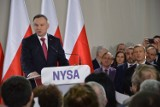 Andrzej Duda przyjeżdża do Głuchołaz. Prezydent będzie wizytował szpital MSWiA