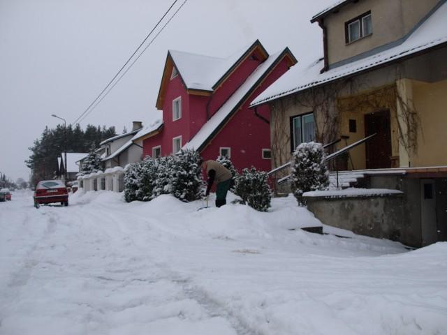 Wodociąg przy ul. Leśnej może zimą zamarzać.
