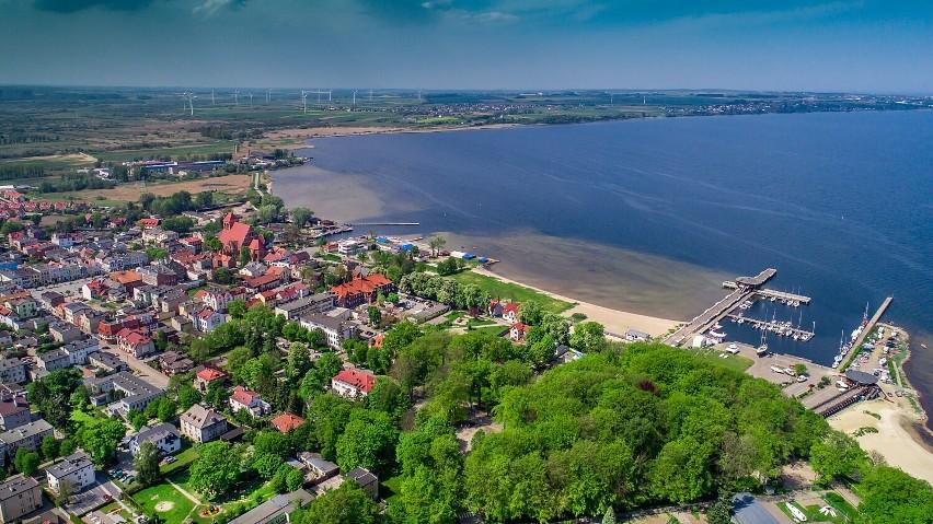 Zatoka Pucka - wchodzi w skład Nadmorskiego Parku...