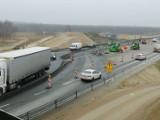 Autostrada A1 - kierowcy do Częstochowy jadą już dwoma pasami. Gierkówka jest zamknięta