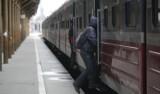 Zamarznięte rozjazdy opóźniły pociąg Regio pod Pruszczem Gdańskim
