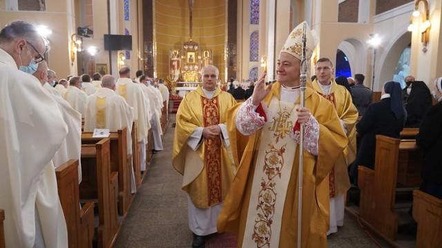 Bp Artur Ważny jest czternastym biskupem pomocniczym w historii diecezji tarnowskiej