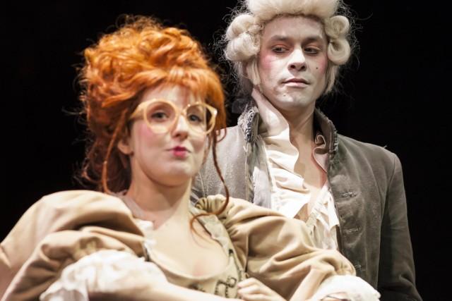 """""""Don Juan"""" w Teatrze Dramatycznym. Zdjęcia z próby dla mediów"""