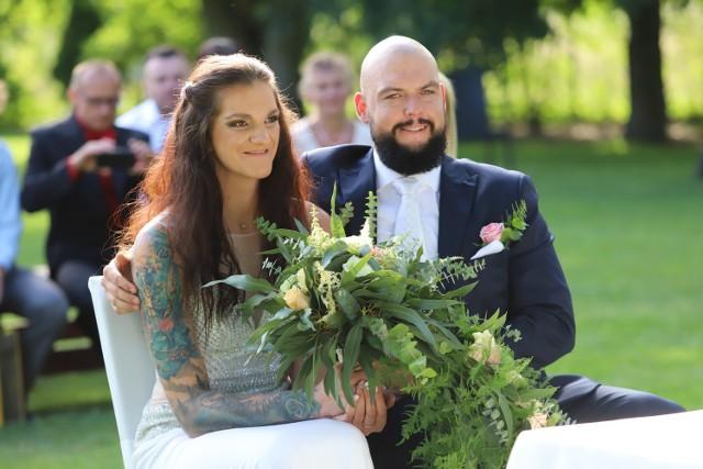 Ślub siatkarskiej gwiazdy