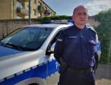 Policjant z Tuchomia w czasie po pracy złapał złodzieja alkoholu w sklepie w Bytowie