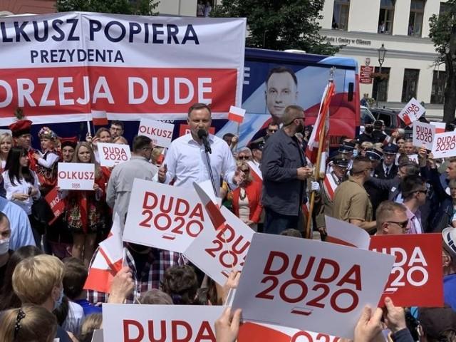 Wybory wygrywa Andrzej Duda