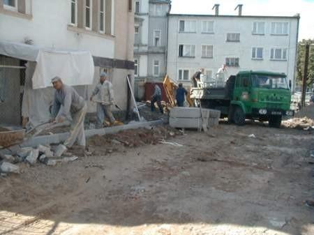 Na zdjęciu - modernizacja Urzędu Skarbowego w Chojnicach. Fot. Radosław Osiński